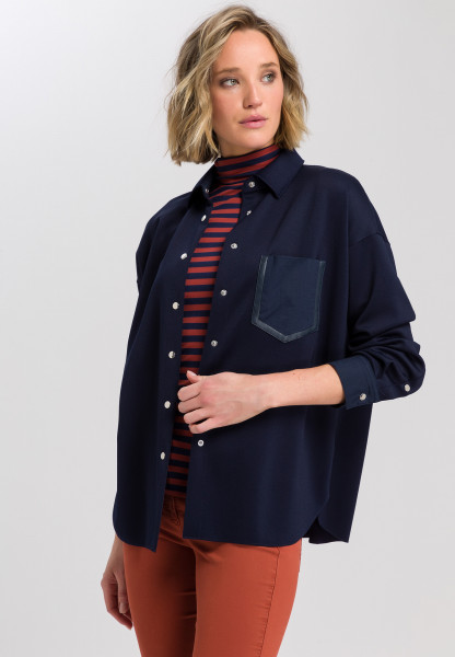 Shirt Jacket from jersey material