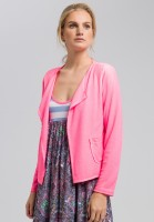 Cardigan with open front