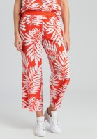 Pyjama bottoms in leaf design