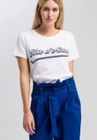 T-shirt with Côte d'Azur print
