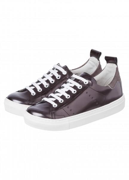 Sneaker aus Echtleder