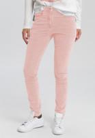 Corduroy trousers with decorative band