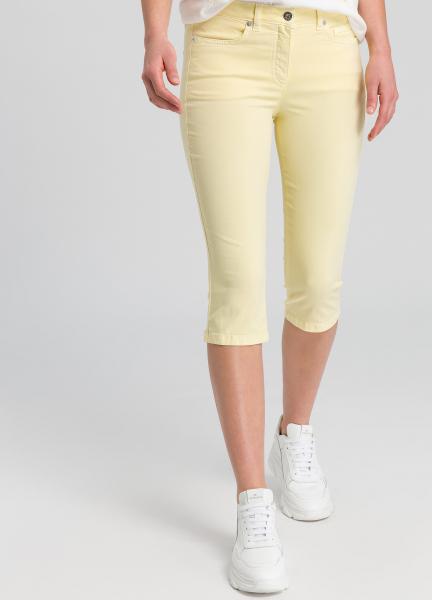 Capri pants in 5-pocket style