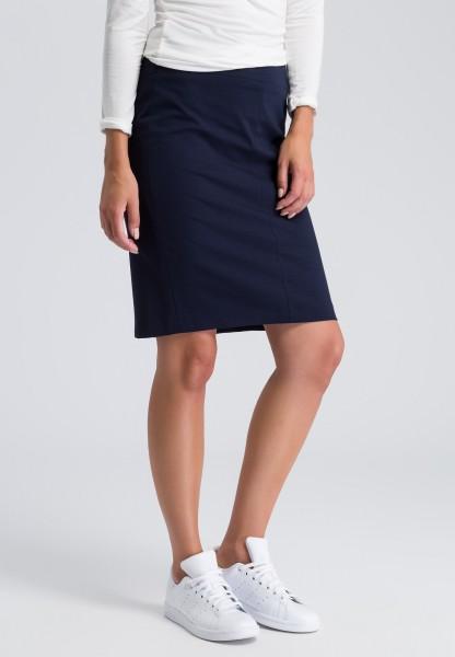 Pencil skirt with an underskirt