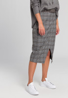 Wrap skirt In patchwork