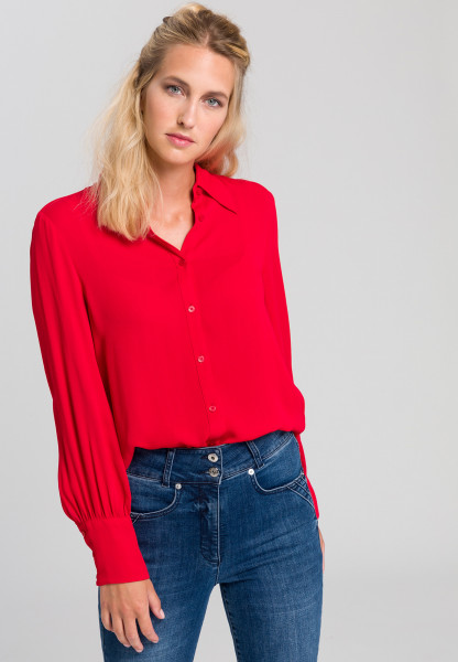 Shirt blouse From viscose crepe