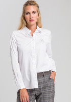 Shirt blouse With silver emblem