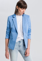 Single Button Blazer with falling lapel