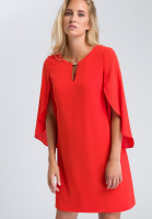 Dress with wing sleeves