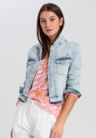 Jeans Jacket with back-print