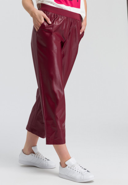 Culotte leather-look