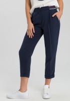 Pants stretch waistband with contrast stripes
