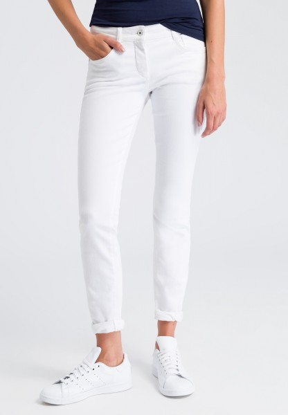 Jeans white-denim look