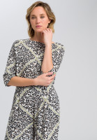 Tunic With leopard print and chain