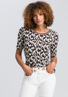 T-shirt in ethnic print