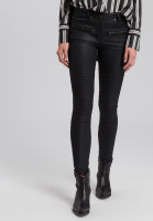 Pants in leather look