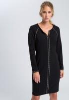 Sheath dress with rivets