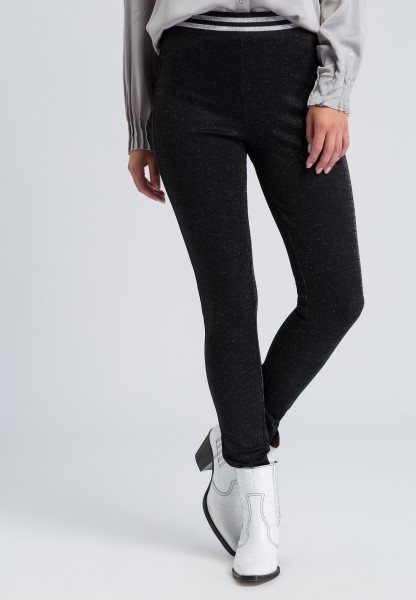Leggings glossy effect