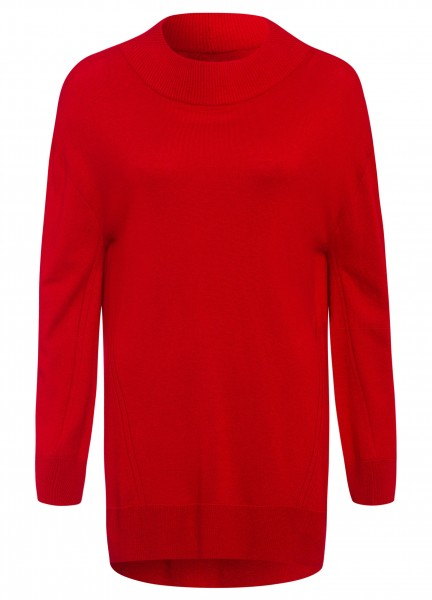 Wool jumper with cashmere