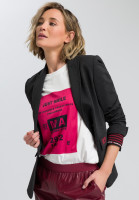 Blazer Jacket made of mottled jersey