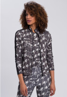 Sports jacket with abstract camouflage print