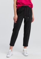Jog Pants made of mottled jersey