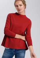 Sweaters in A-line with turtleneck