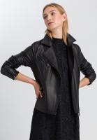 Biker jacket from lamb nappa