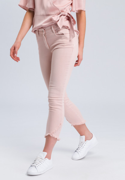 Jeans in the coloured denim look