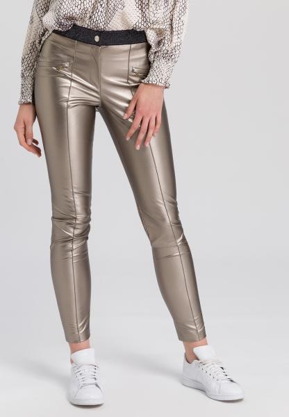Leggings leather-look