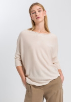 Sweaters with rolled edge