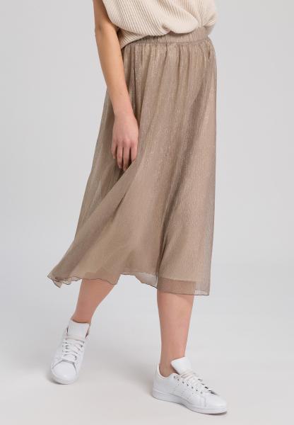Skirt lurex tulle