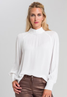 Blouse With roll collar