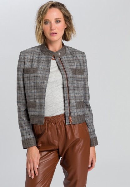 Blazer jacket In patchwork