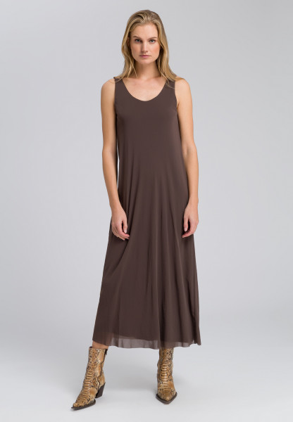 Maxi dress double layer