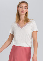 T-shirt from linen jersey
