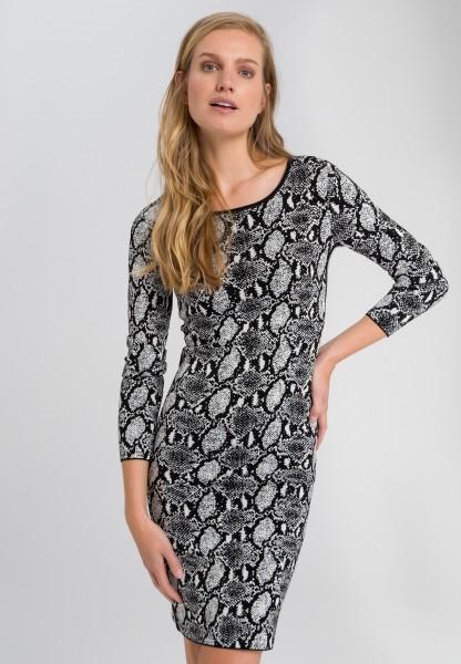 Dress with snake pattern