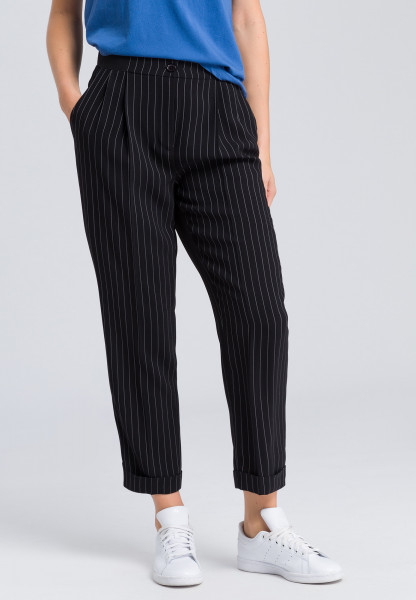 Pants pinstriped