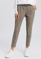Trousers made from technical jersey