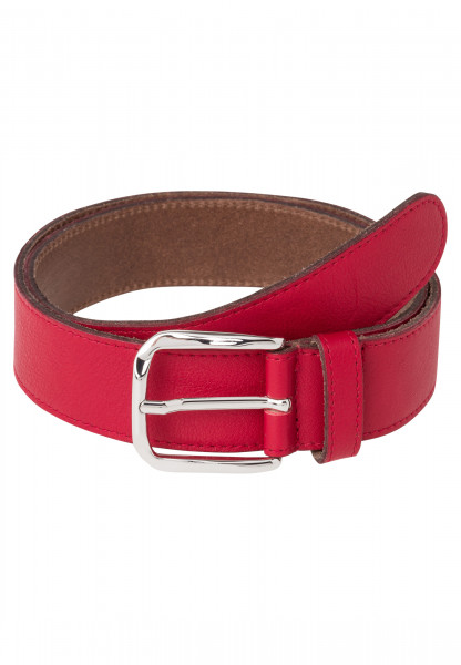 Belt made of real leather