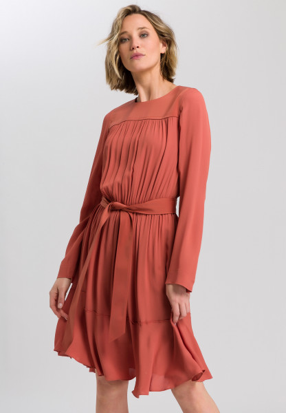 dress with ripple effect