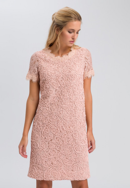 Dress made from fine lace