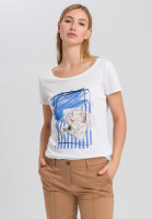 T-shirt with summer-print