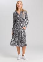 Dress in zebra print