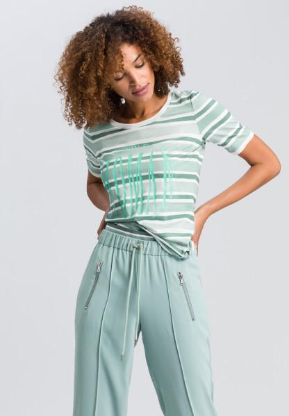 T-shirt in striped look