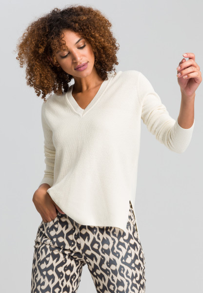 Sweaters from lurex rib