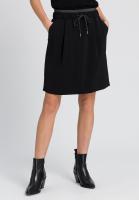 Skirt with metallic details