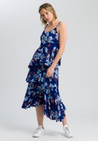 Dress with floral print