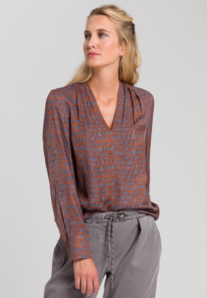 Blouse With spot print