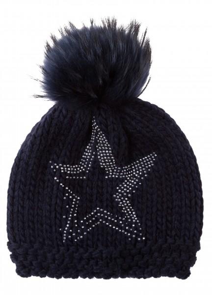 Mütze mit Sterndekor
